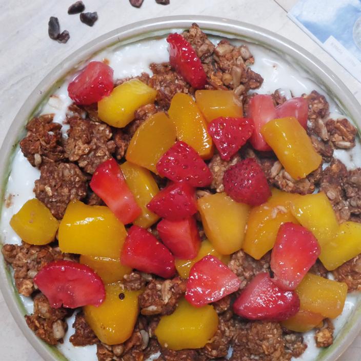 eat Crunchy Granola Schoko