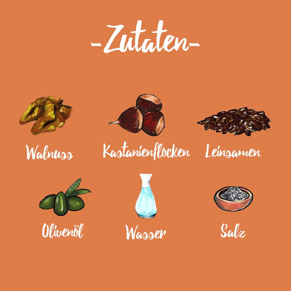 eat Knäckebrot Walnuss