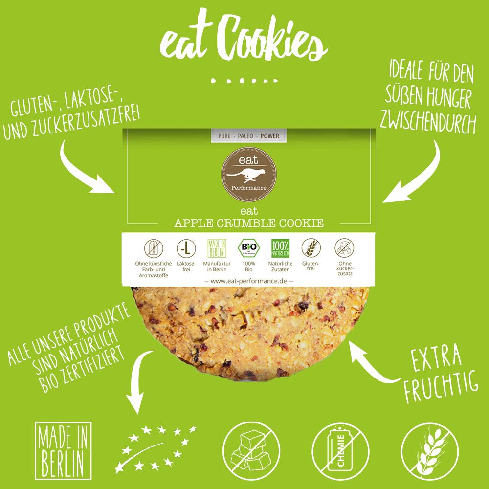 eat Cookie Apple Crumble