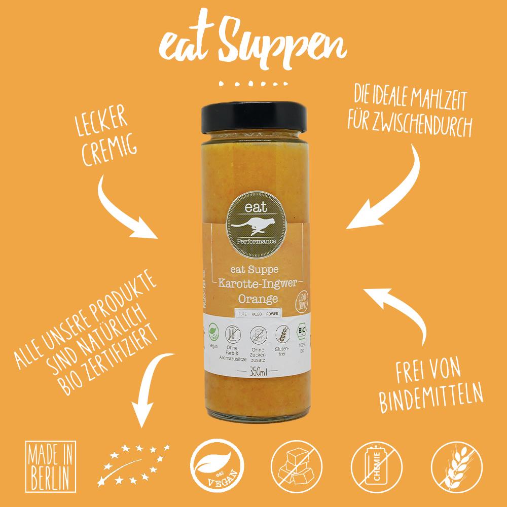 eat Suppe Karotte-Ingwer-Orange