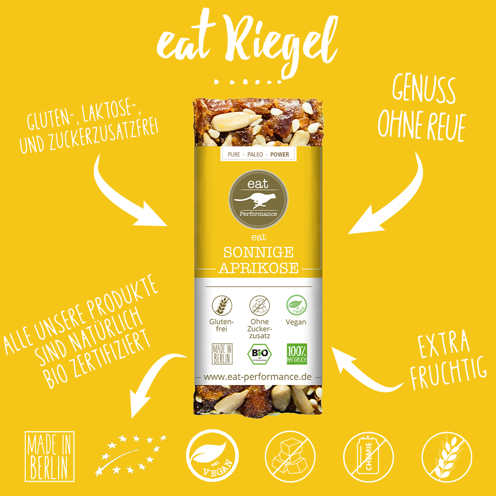 eat Riegel Sonnige Aprikose