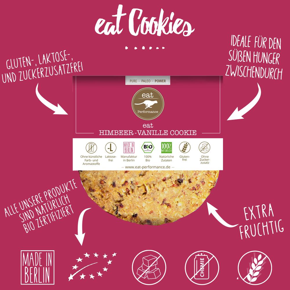 eat Cookie Himbeer-Vanille