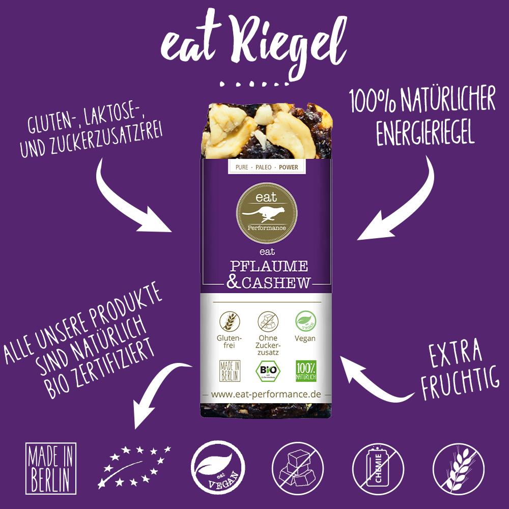 eat Riegel Pflaume & Cashew