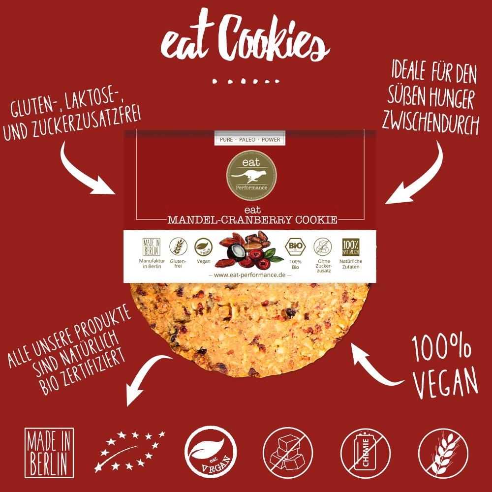 eat Cookie Mandel - Cranbarry