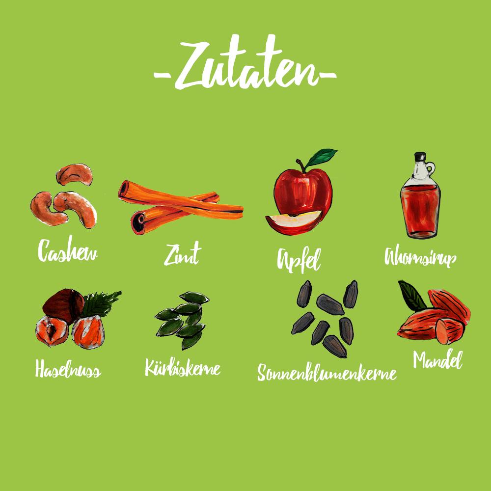 eat Müsli Apfel - Zimt