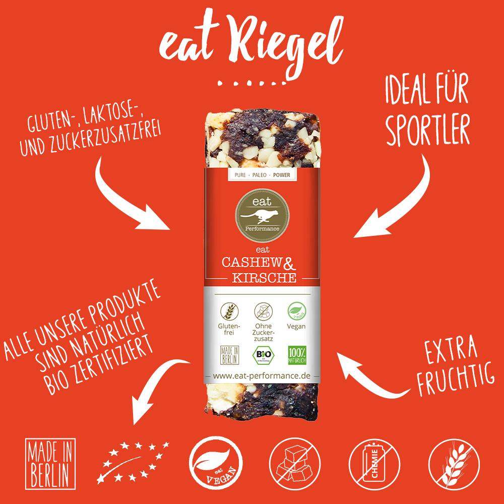eat Riegel Cashew & Kirsche