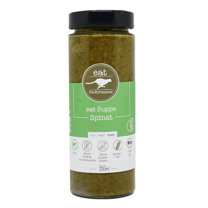 eat Suppe Spinat-Kokos